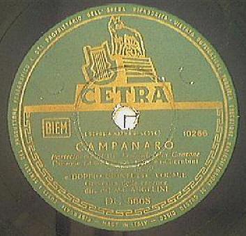 FESTIVAL DI SANREMO 1953: I CANTANTI - LE CANZONI - I TESTI CAMPAN1