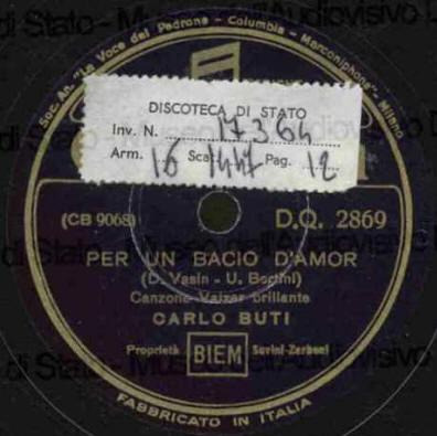Carlo Buti Canzoni Toscane