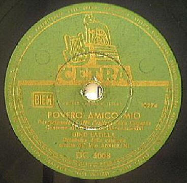 FESTIVAL DI SANREMO 1953: I CANTANTI - LE CANZONI - I TESTI POVERO3