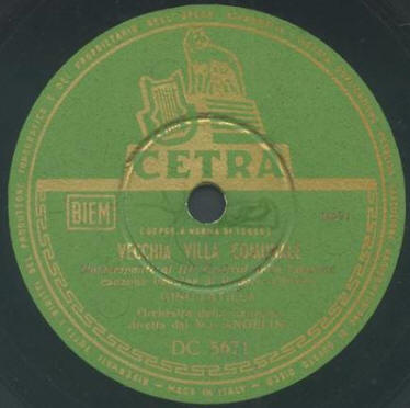 FESTIVAL DI SANREMO 1953: I CANTANTI - LE CANZONI - I TESTI VECCHI7